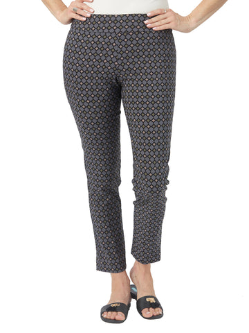 Womens Black Multi Diamond  The You Pant
