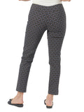 Womens Black Multi Diamond  The You Pant 4