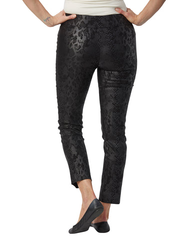Womens Black Python The You Pant 2 Alternate View