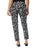 Krazy Larry Pants Womens Black Splatter The You Pant 2 Alternate View
