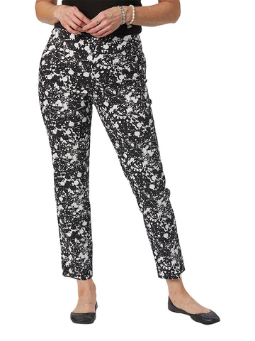 Womens Black Splatter The You Pant