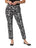 Krazy Larry Pants Womens Black Splatter The You Pant