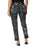 Womens Black/White French News  The You Pant 2 Alternate View