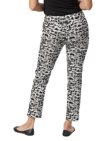 Womens Black & White Links  The You Pant 2 Alternate View