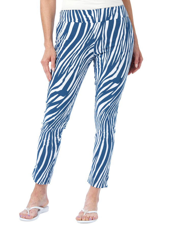 Womens Blue Zebra The You Pant