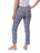 Krazy Larry Pants Womens Navy Bars  The You Pant 2 Alternate View