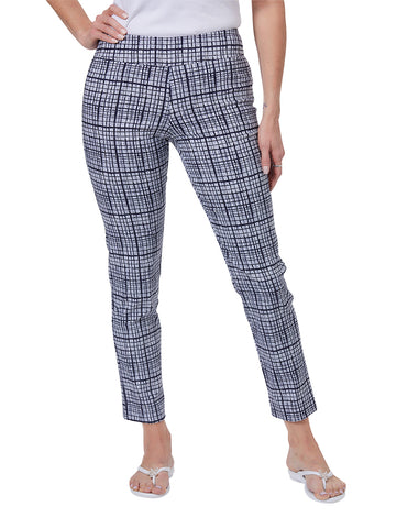 Womens Navy Bars  The You Pant