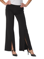 Destination Collection - Open Front Slit Pull On Pant