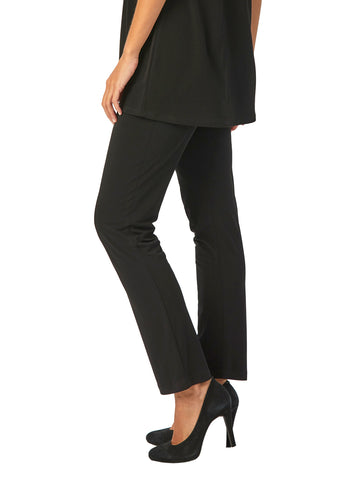 Womens Black Destination Collection - Straight Leg Pant 2 Alternate View