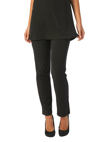Womens Black Destination Collection - Straight Leg Pant