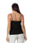 Womens Black  Destination Collection - Spaghetti Strap Cami  2 Alternate View