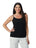 Womens Black  Destination Collection - Spaghetti Strap Cami