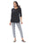 Womens Black Destination Collection - KRAZY LOLA HIGH/LOW TUNIC 2 Alternate View
