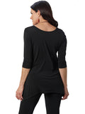 Womens Black Destination Collection - Side Vent Tunic 2