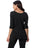 Womens Black Destination Collection - Side Vent Tunic 2 Alternate View