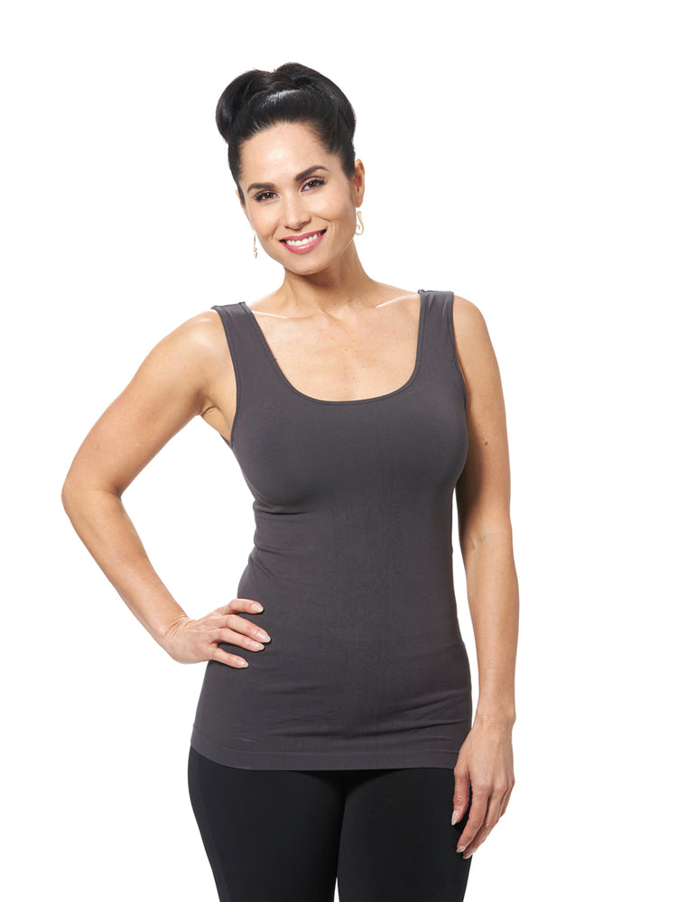 Sleeveless Bamboo Tank | Patchington - Patchington