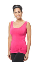Sleeveless Reversible Bamboo Tank