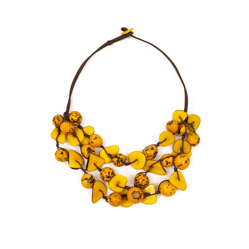 Gisell Necklace | Tagua Jewelry - Patchington