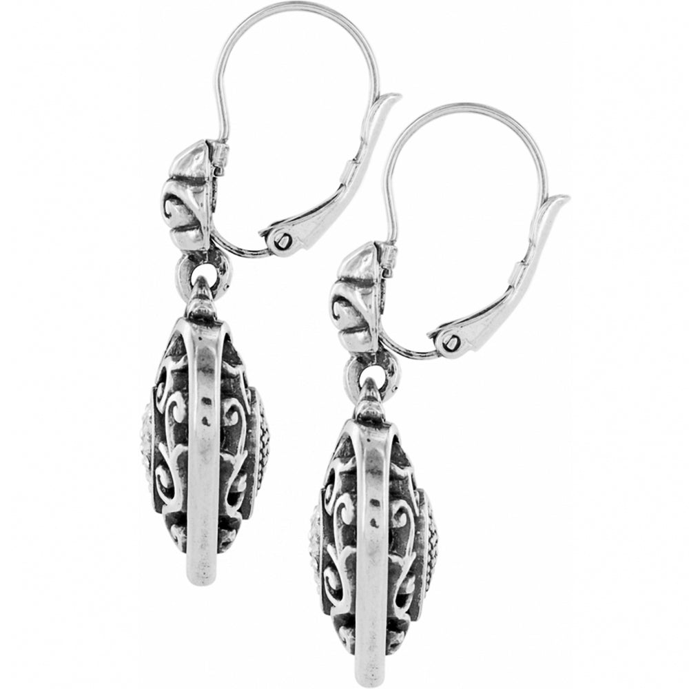 Reno Heart Leverback Earrings | Brighton - Patchington