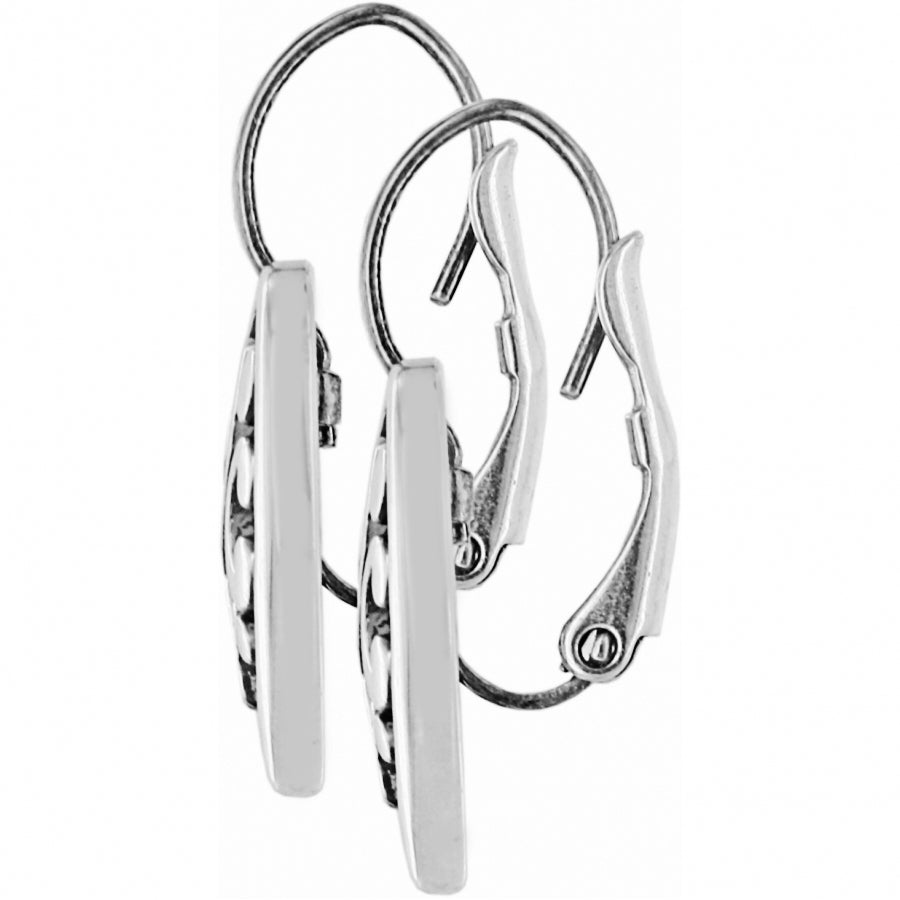 Contempo Heart Leverback Earrings | Brighton - Patchington