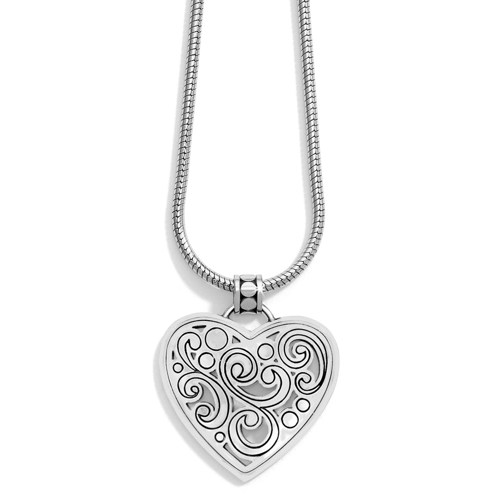 Contempo Heart Necklace - Patchington
