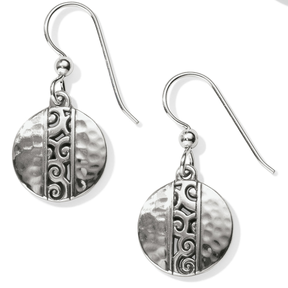Mingle Disc French Wire Earrings | Brighton - Patchington