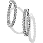 Twinkle Splendor Medium Hoop Earring