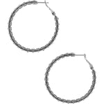 Twinkle Splendor Medium Hoop Earring | Brighton - Patchington