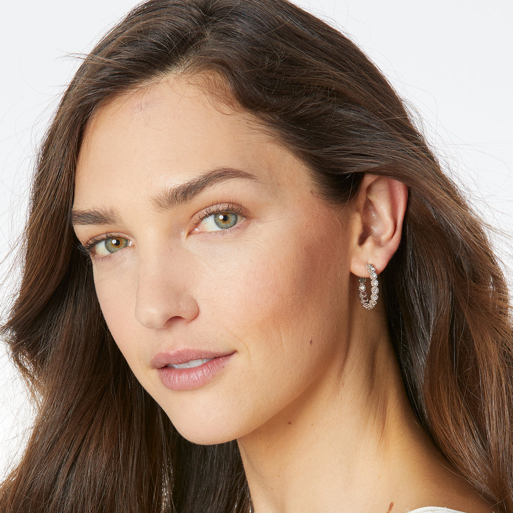 Twinkle Splendor Small Hoop Earring | Brighton - Patchington