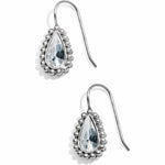 Twinkle Teardrop French Wire Earrings