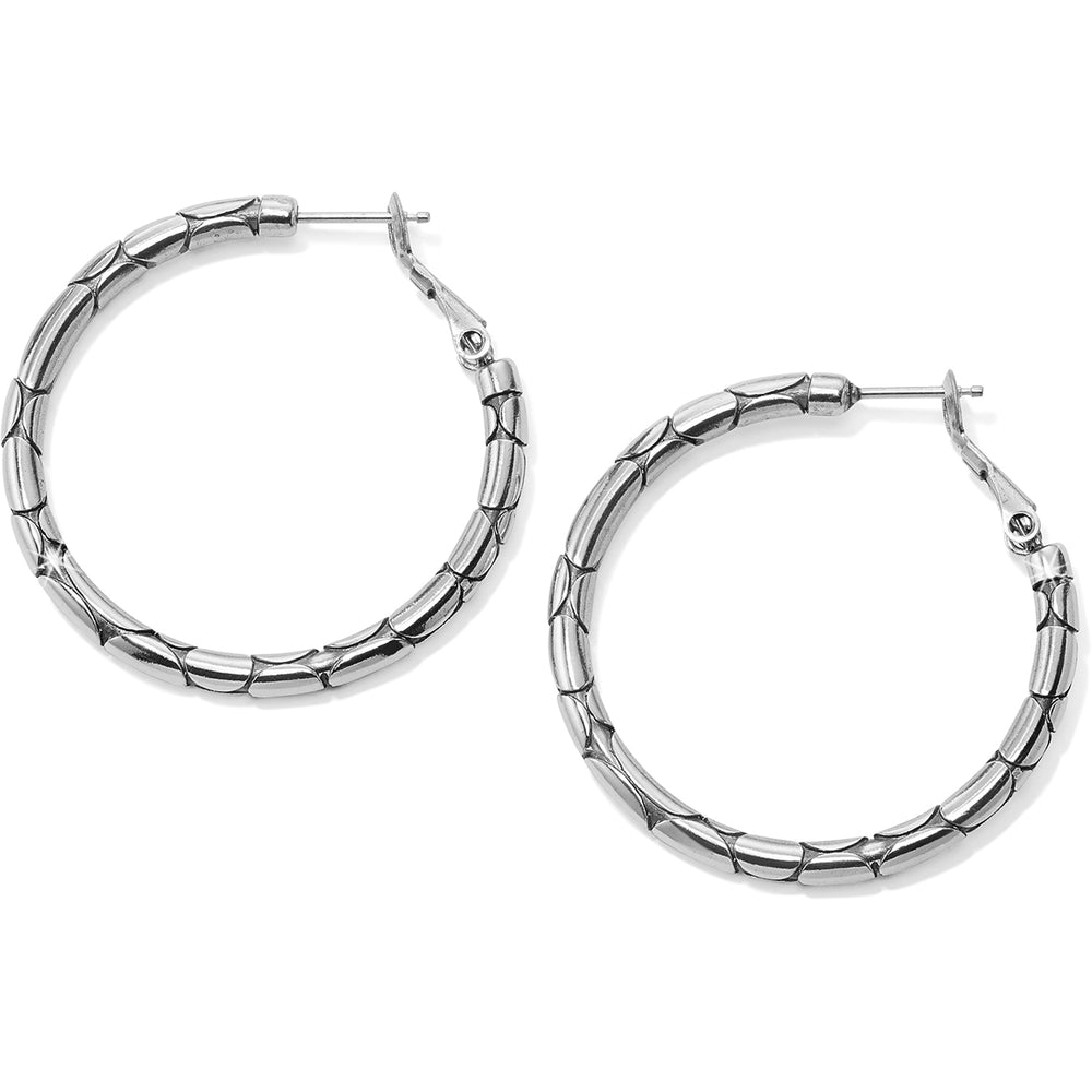 Pebble Small Hoop Earrings | Brighton - Patchington