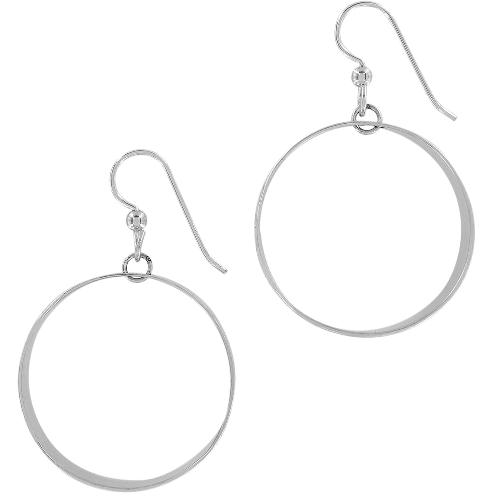 Marrakesh Mesa Hoop French Wire Earrings - Patchington