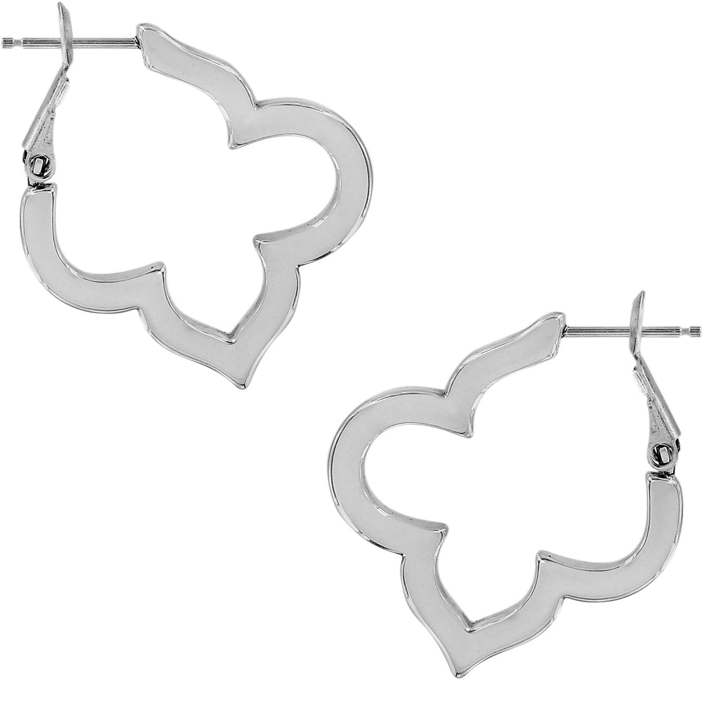 Toledo Collective Pave Hoop Earrings | Brighton - Patchington