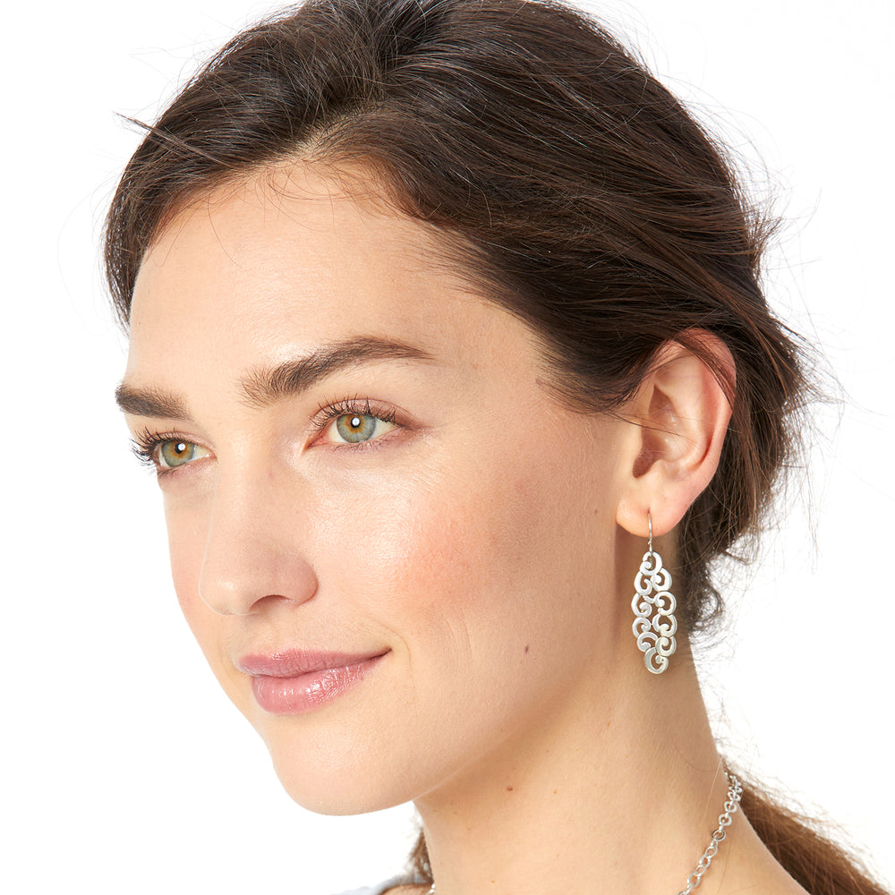 Barbados Nuvola French Wire Earrings - Patchington