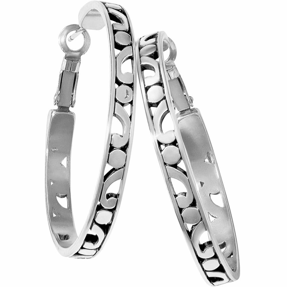 Contempo Large Hoop Earrings | Brighton - Patchington