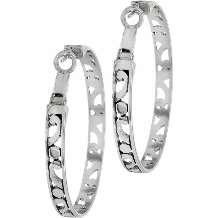 Contempo Large Hoop Earrings - Patchington