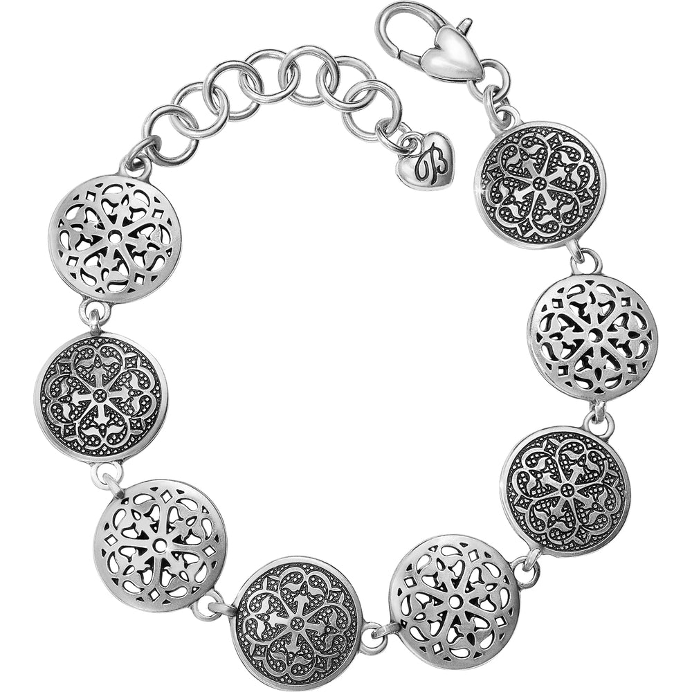 Ferrara Medallion Link Bracelet | Brighton - Patchington