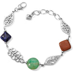 Barbados Leaves Stone Bracelet