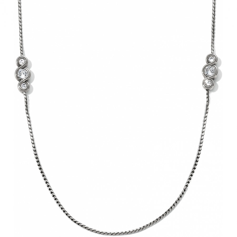Infinity Sparkle Long Necklace | Brighton - Patchington