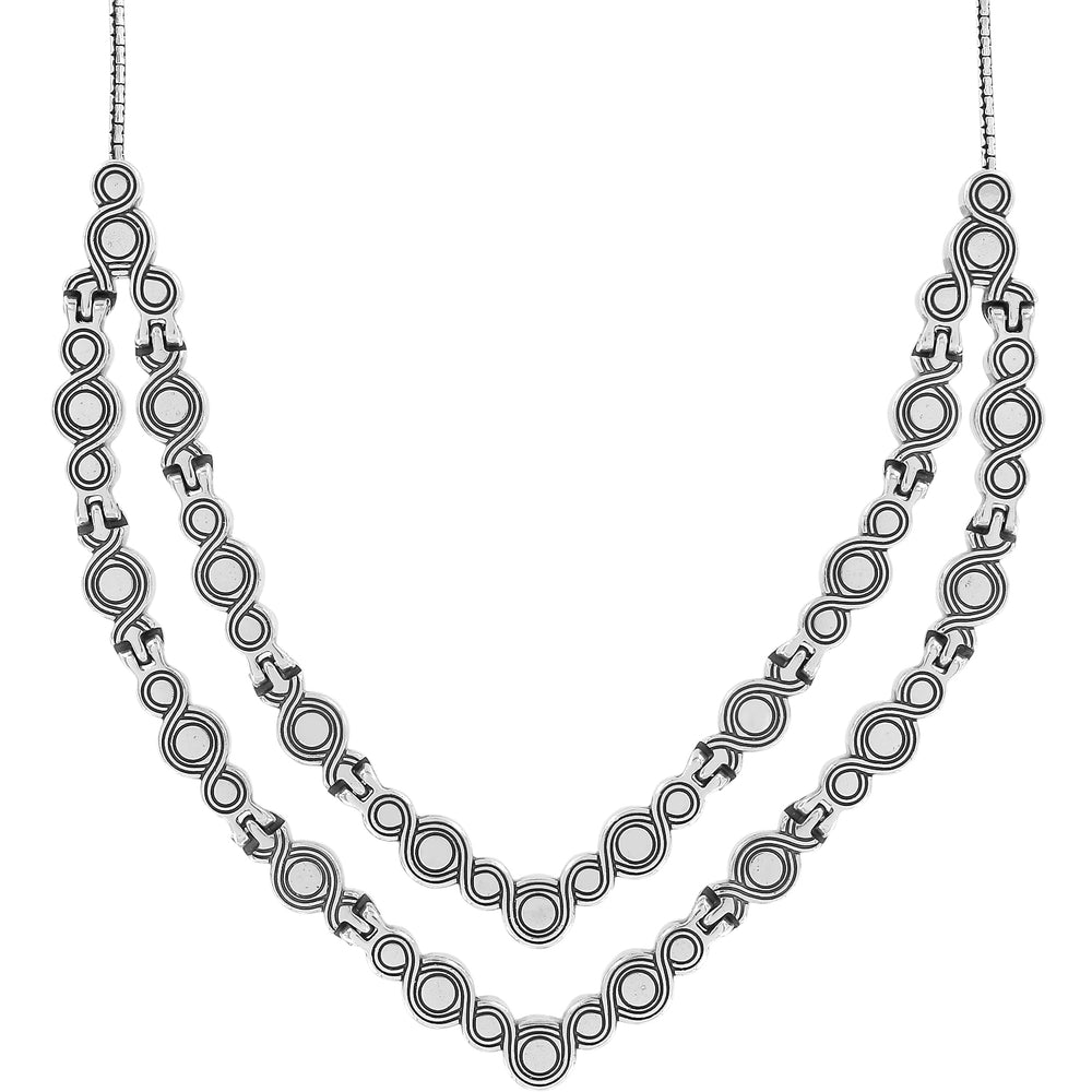 Infinity Sparkle Collar Necklace - Patchington