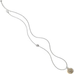Ferrara Two Tone Reversible Long Necklace