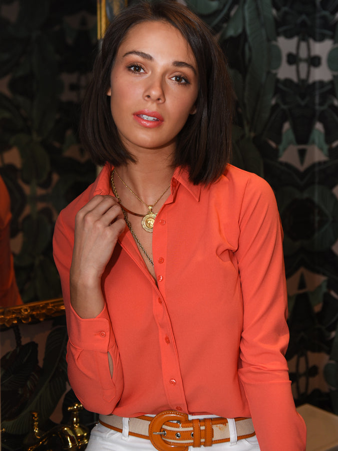 Womens Apricot The Signature Shirt