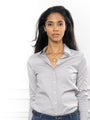 Womens Ash Grey The Essentials Icon Shirt