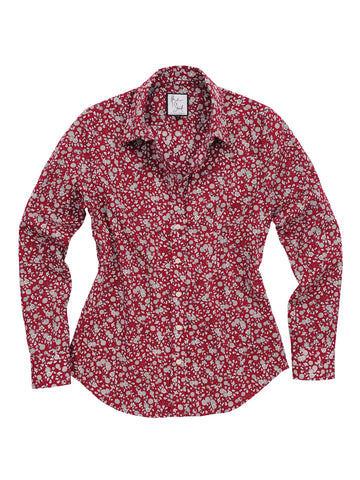 Womens Berry The Essentials Icon Shirt