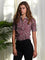 Womens Berry The Essentials Shirt with Peter Pan Collar