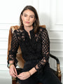 Womens Black The Lace Shirt 2