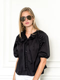 Womens Black The Antoinette Shirt 2