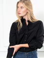 Womens Black The Boyfriend Shirt 2