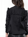 Womens Black The Trapeze Shirt 2
