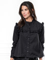 Womens Black The Trapeze Shirt